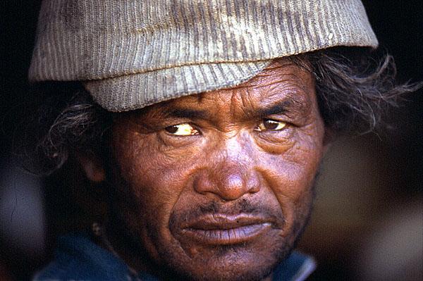 """фото """"TIBET.MAN"""" метки: путешествия, портрет, Азия, мужчина"""