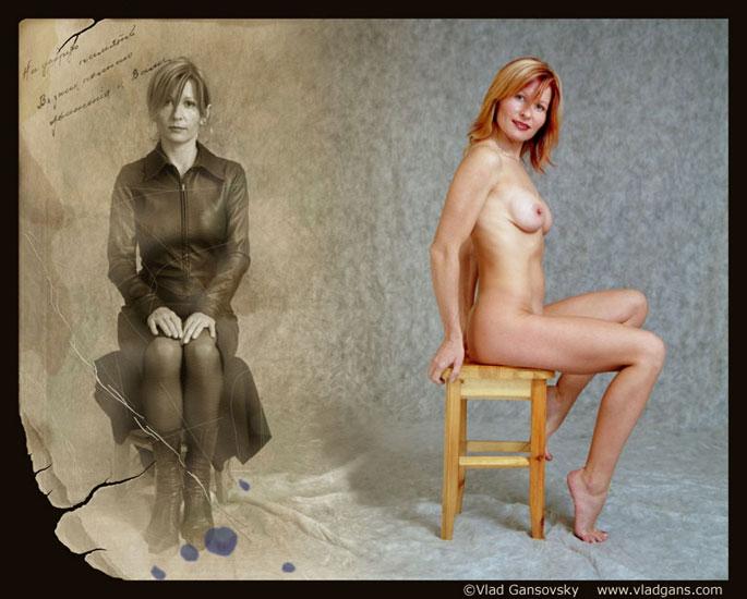 """фото """""""" На добрую память..."""""""" метки: ню, портрет, женщина"""