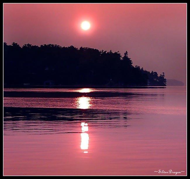 "фото ""Rise of a New Day"" метки: пейзаж, вода, закат"