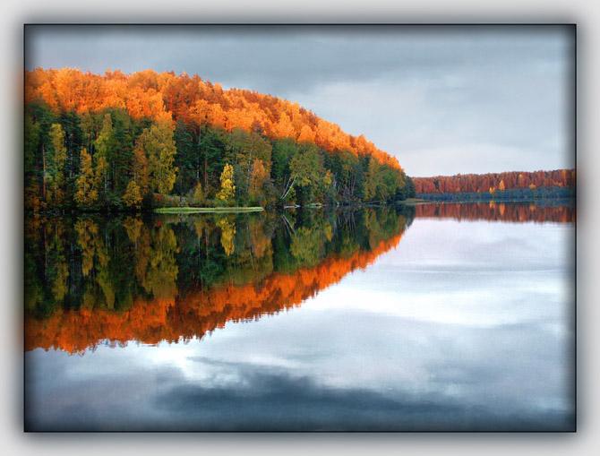 """фото """"Старое осеннее зеркало..."""" метки: пейзаж, осень"""