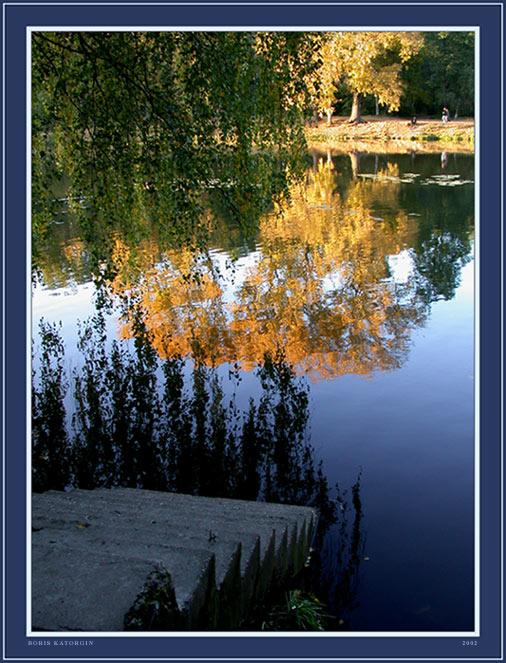 """фото """"Лестница в осень"""" метки: пейзаж, вода, осень"""