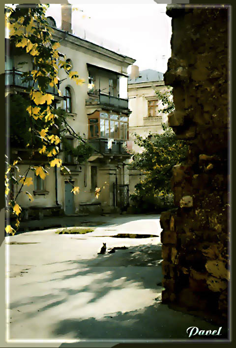 "фото ""Дворик"" метки: архитектура, разное, пейзаж,"