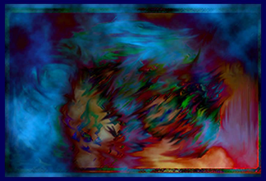 """фото """"scream in space"""" метки: абстракция, фотомонтаж,"""