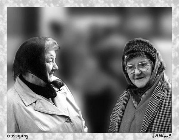 """фото """"'Gossiping'"""" метки: портрет, разное, женщина"""