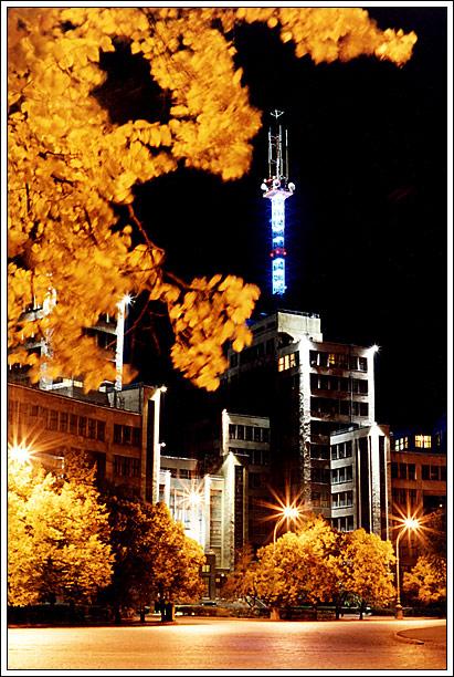 "фото ""Autumn In Kharkov"" метки: архитектура, пейзаж, осень"