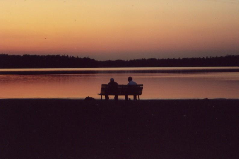"фото ""Old timers"" метки: пейзаж, вода, закат"