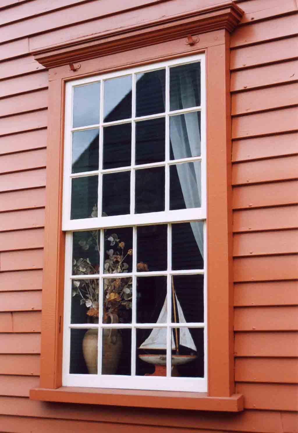 "фото ""New England Window"" метки: архитектура, пейзаж,"