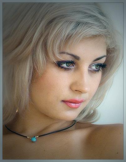 """фото """"Оксана в цвете"""" метки: портрет, женщина"""