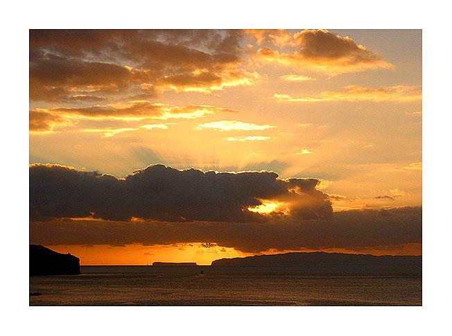 """фото """"God`s Light"""" метки: пейзаж, закат"""