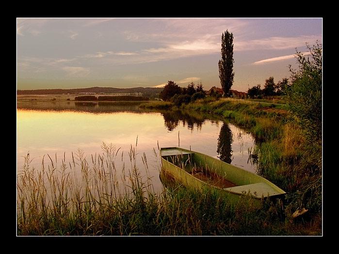 "фото ""Bohemian Landscape 07"" метки: пейзаж, вода, закат"