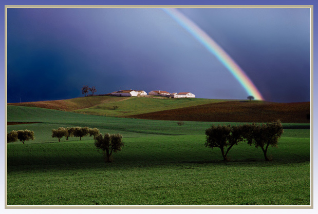 """фото """"Rainbow - Alentejo, Portugal"""" метки: пейзаж, зима"""