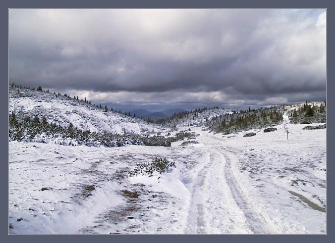 "фото ""Storm Is Coming"" метки: пейзаж, горы, зима"