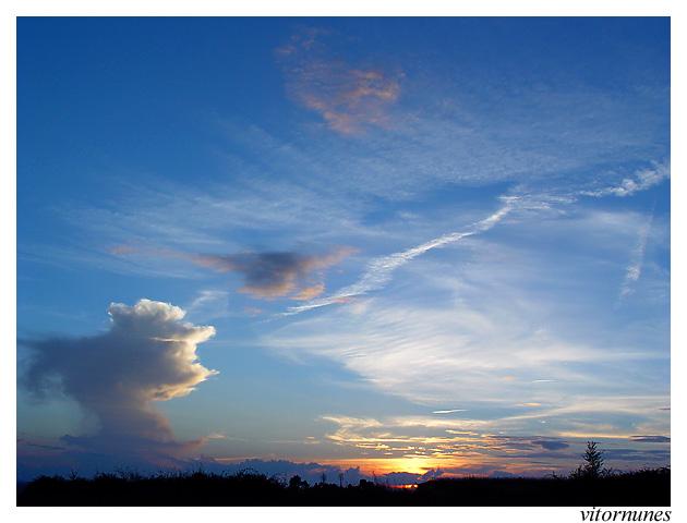 "фото ""Open Sky"" метки: пейзаж, закат, облака"