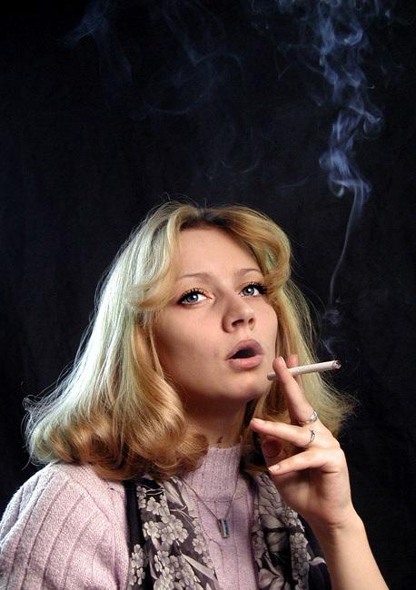 """фото """"Дым сигарет с ментолом..."""" метки: портрет, жанр, женщина"""