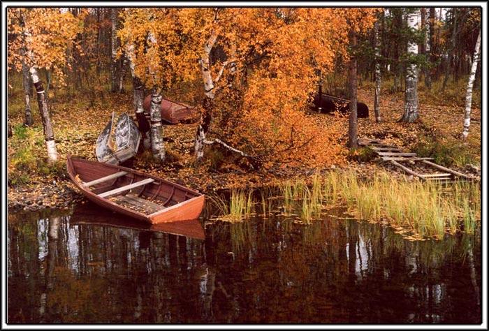 """фото """"Осень в Карелии 3"""" метки: пейзаж, вода, осень"""