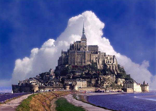 """фото """"Mt St. Michael"""" метки: путешествия, архитектура, пейзаж, Европа"""