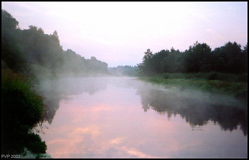"""фото """"Утро"""" метки: пейзаж, закат"""