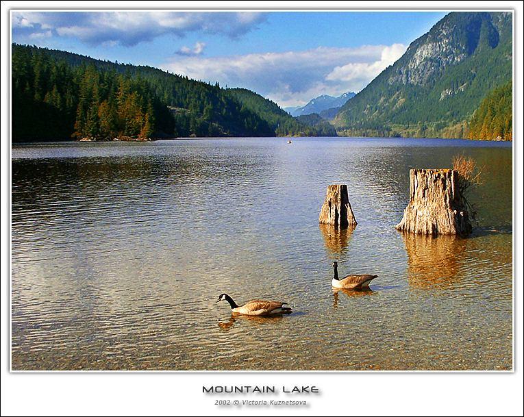 """фото """"Горное озеро"""" метки: пейзаж, вода, горы"""