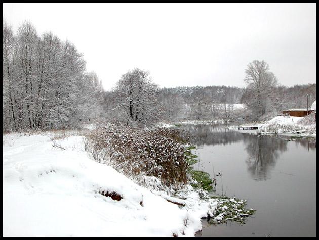 "фото ""Предзимье"" метки: пейзаж, вода, зима"
