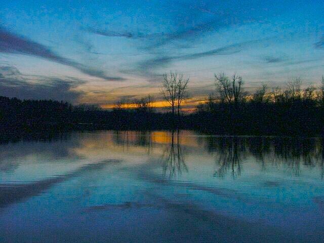"фото ""Sunset Reflections"" метки: пейзаж, вода, закат"