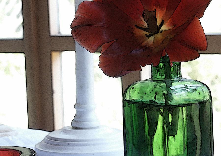 "фото ""сломанный тюльпан"" метки: натюрморт,"