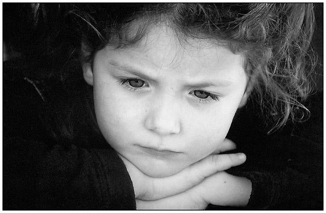 """фото """"Thoughts (b&w version)"""" метки: портрет, дети"""