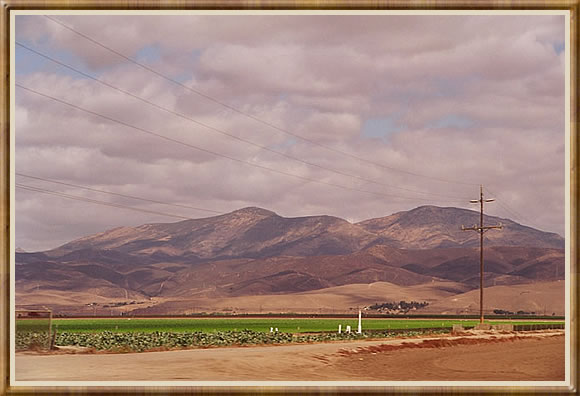 "photo ""Colourful California hills"" tags: travel, landscape, North America"