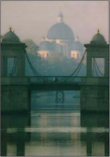 """фото """"Гель-Гью. Раннее утро."""" метки: архитектура, пейзаж, вода"""