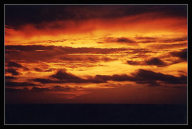 """фото """"Ночной огонь"""" метки: пейзаж, закат"""