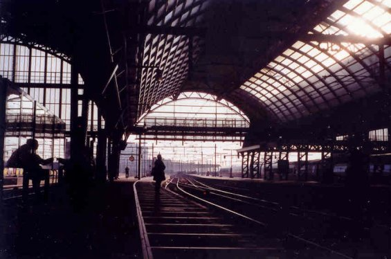 "photo ""Amsterdam Central Station"" tags: architecture, landscape,"
