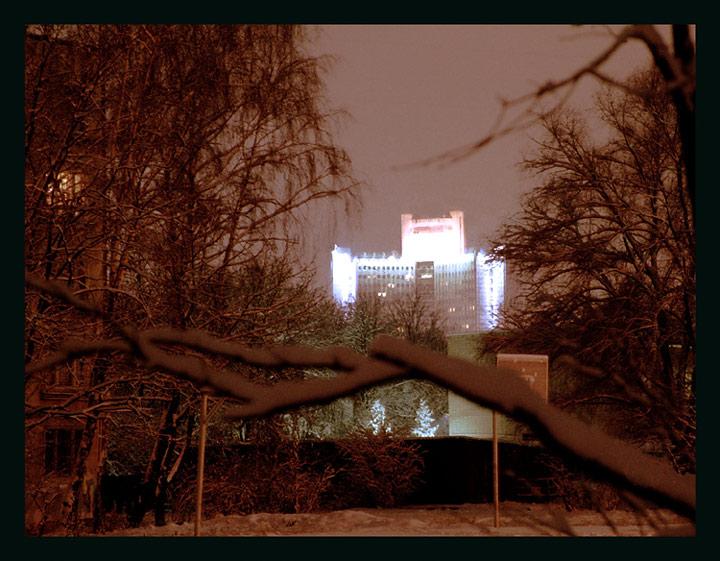 """фото """"И снова ночь зовет меня к себе из дома.."""" метки: пейзаж, архитектура, ночь"""