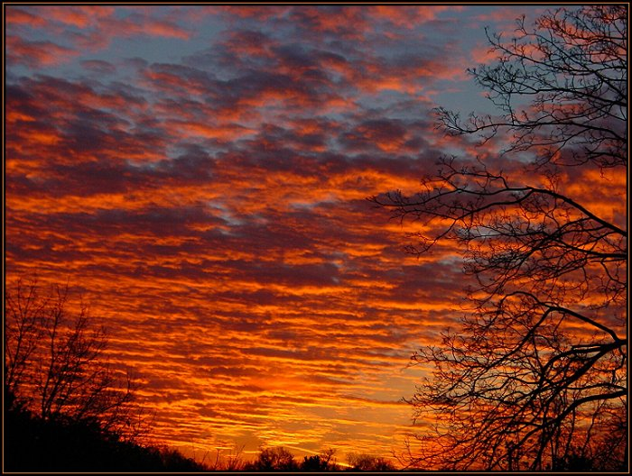 """photo """"...morning..."""" tags: landscape, clouds, sunset"""