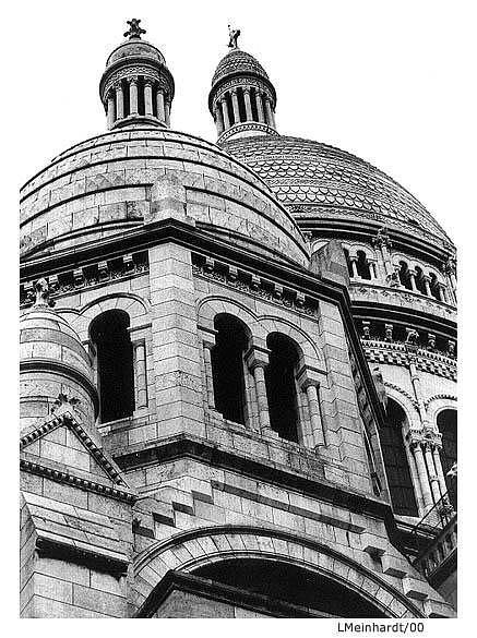 """фото """"Sacre Coeur - I"""" метки: путешествия, архитектура, пейзаж, Европа"""