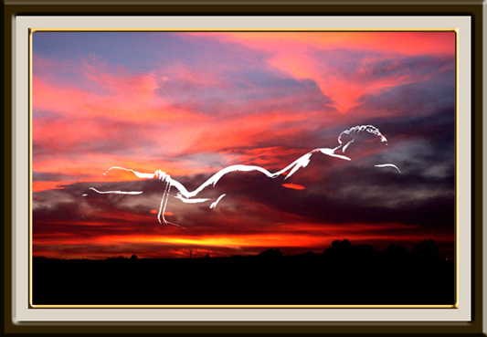"photo ""Venus dels nuvols"" tags: montage,"