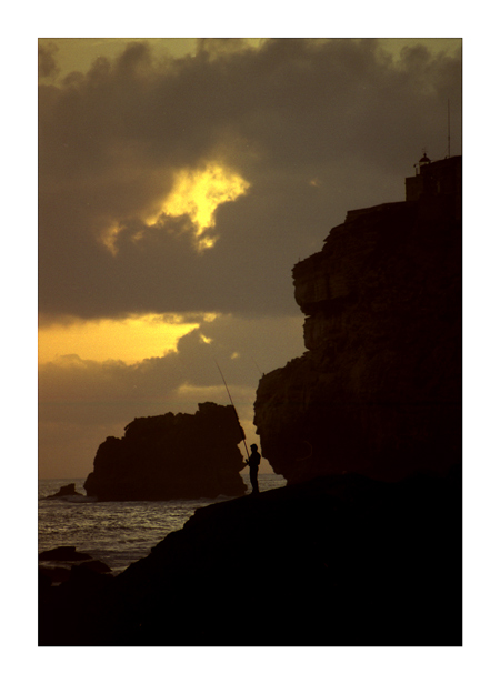 "фото ""The fisherman #2"" метки: пейзаж, облака"
