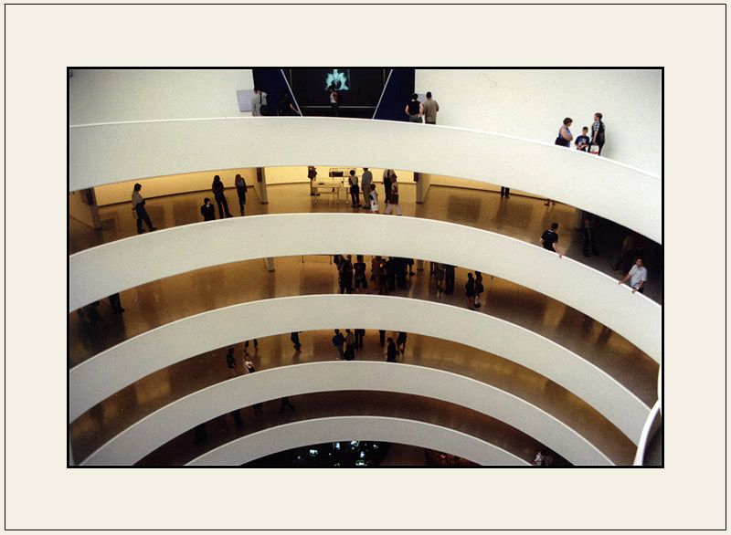 "photo ""Guggenheim Museum #3"" tags: misc.,"