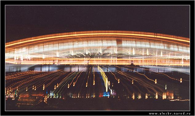 """фото """"Разлет моста"""" метки: пейзаж, ночь"""