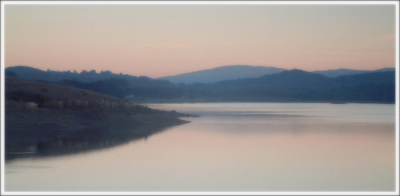 "photo ""Early twilight colors"" tags: landscape, mountains, water"