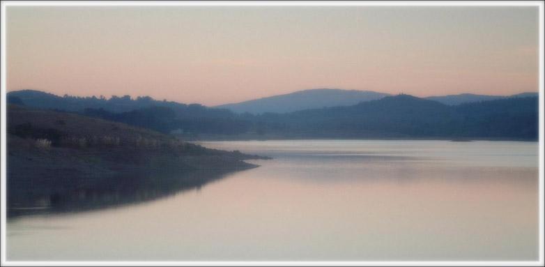 """фото """"Ранние сумерки"""" метки: пейзаж, вода, горы"""