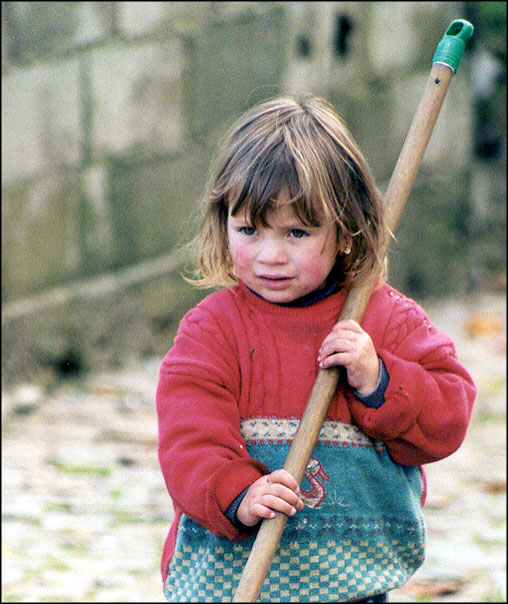 "фото ""The girl"" метки: портрет, дети"