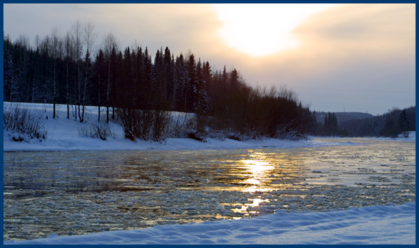 "photo ""Untitled photo"" tags: landscape, sunset, water"