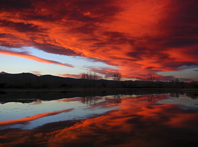 """photo """"Sawhill Sunset 11-18"""" tags: landscape, clouds, sunset"""