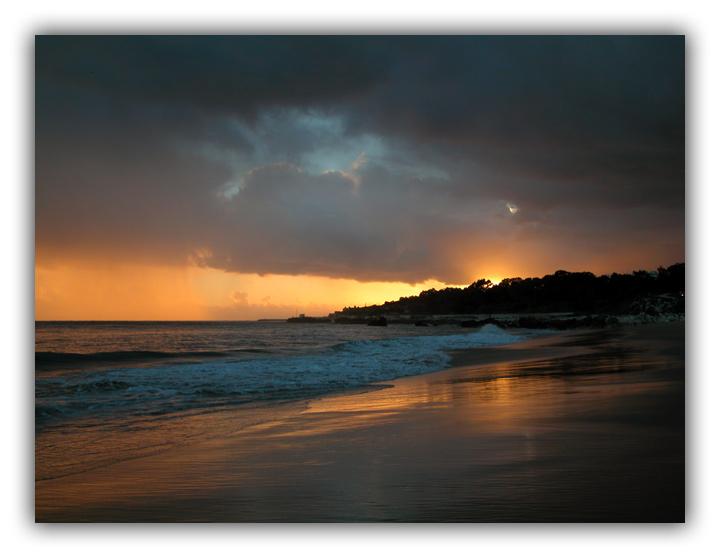 """photo """"Dangerous beauty"""" tags: landscape, sunset"""