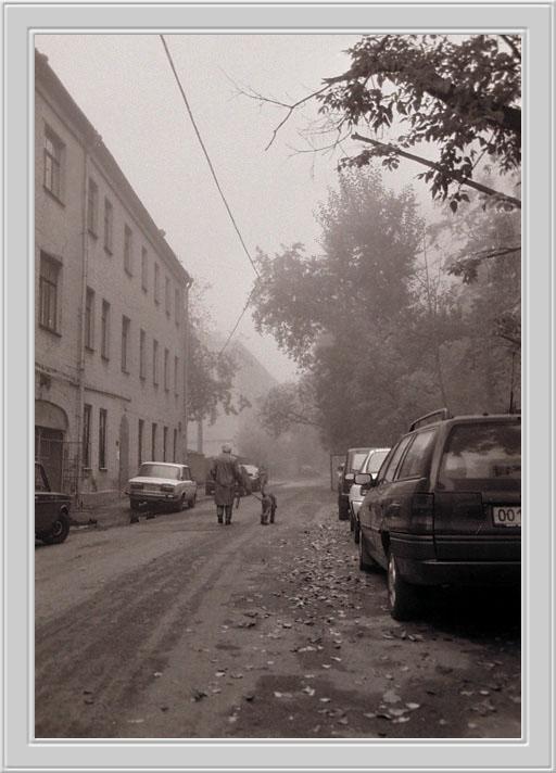 """фото """"Утренняя прогулка"""" метки: архитектура, пейзаж,"""