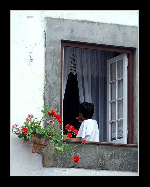 "photo ""Rear Window"" tags: still life, travel, Europe"