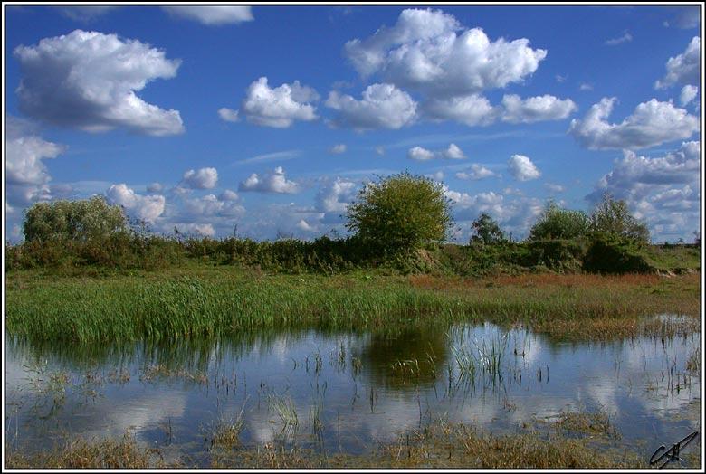 """фото """"Конец лета"""" метки: пейзаж, лето, облака"""