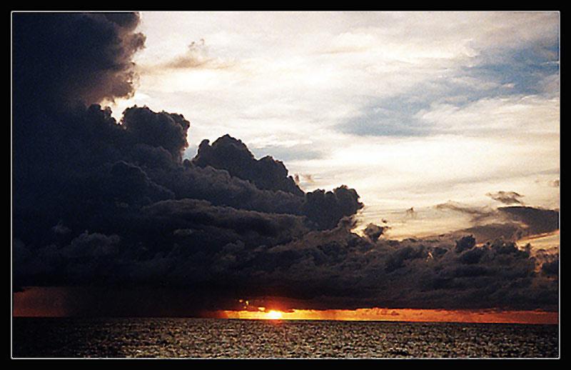 """фото """"Где-то горело небо..."""" метки: пейзаж, облака"""