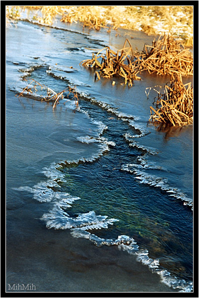 """фото """"Ручей"""" метки: пейзаж, вода, осень"""
