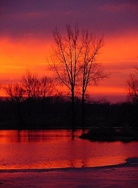 "фото ""Red Sunset"" метки: пейзаж, природа, закат"