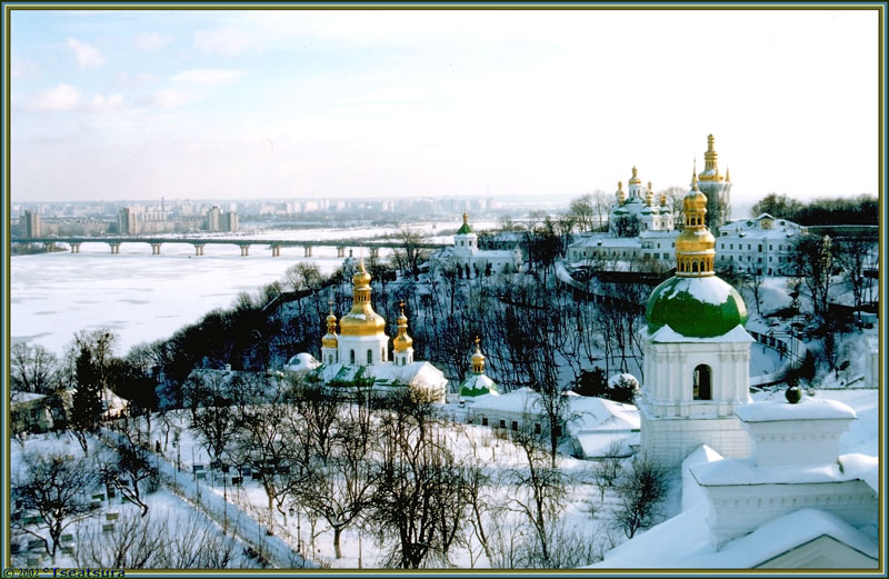 """фото """"Kiev, Lavra etc"""" метки: архитектура, пейзаж,"""